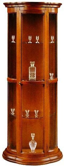 Obrázek Půlkulatá vitrína