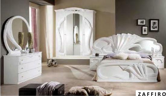 Obrázek Ložnice Zaffiro bílá 4dv.