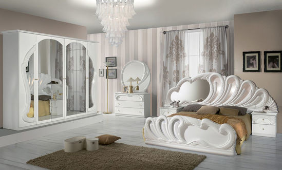 Obrázek Ložnice Bianca bílá 6dv.