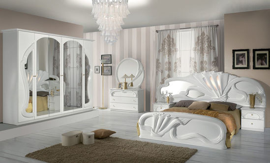 Obrázek Ložnice Zaffiro bílá 6dv,