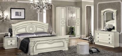 Obrázek Ložnice Aida white silver
