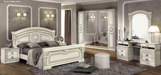 Obrázek Ložnice Aida white silver 3