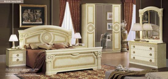 Obrázek Ložnice Aida ivory gold