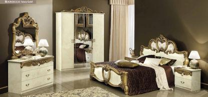 Obrázek Ložnice Barocco ivory gold