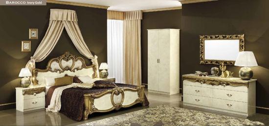 Obrázek Ložnice Barocco ivory gold 1