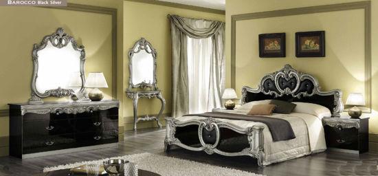 Obrázek Ložnice Barocco black silver 1