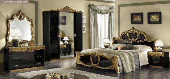 Obrázek Ložnice Barocco black gold
