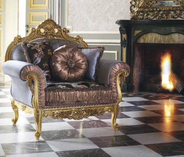 Obrázek Křeslo luxusní - stylové 01