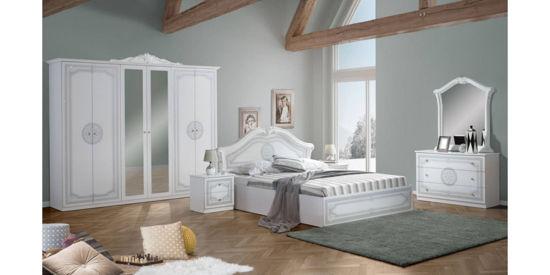 Ložnice Cleopatra bílá.
