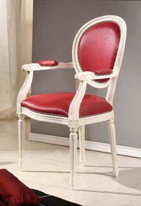 Obrázek Židle s područkou Ludvík XVI